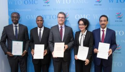 Landmark trade agreement enters into force: WTO chief
