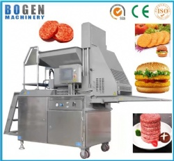 Automatic meat burger forming machine