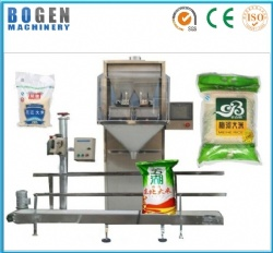 Grains packing and sealing machine